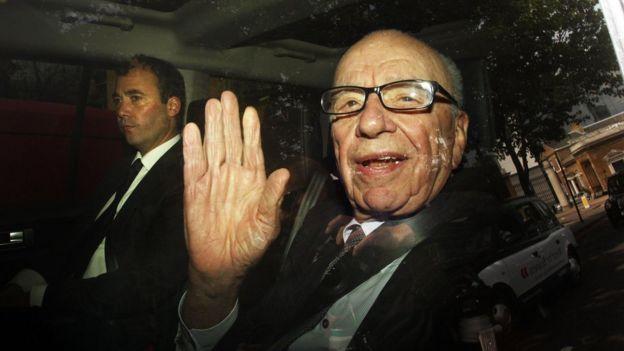 Will Lewis and Rupert Murdoch