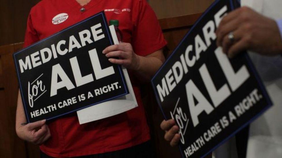 La idea de contar con un sistema de salud de acceso universal ha ido ganando apoyos en Estados Unidos.