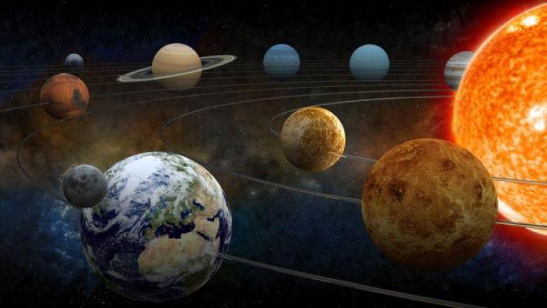 太阳系模型