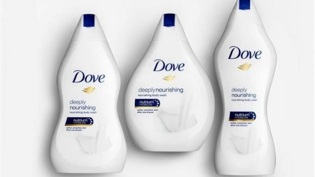 Embalagens de Dove