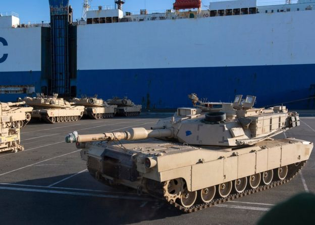 Tanques estadounidenses