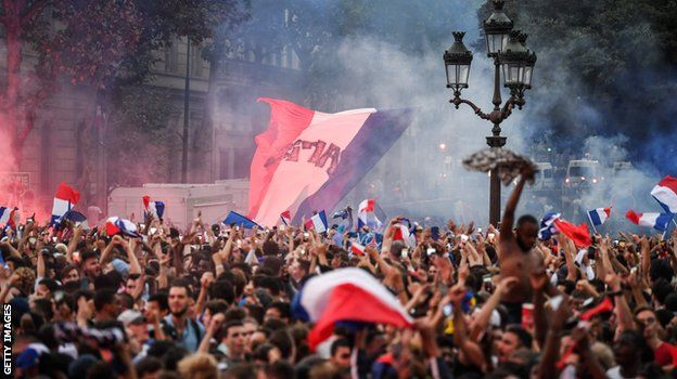 France supporters