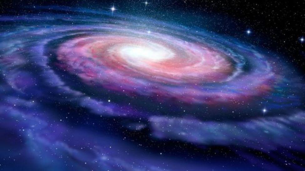 Ilustración de la Vía Láctea