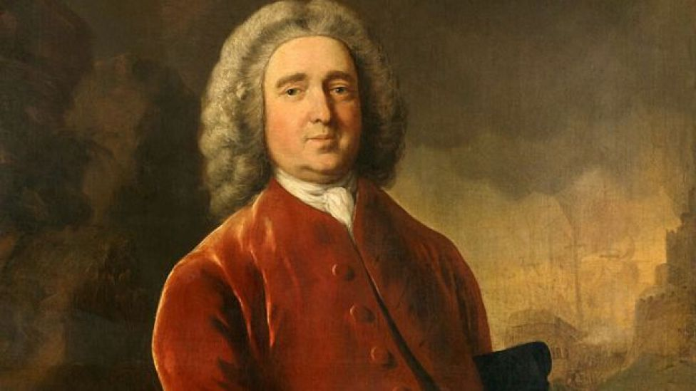 Edward Vernon por Thomas Gainsborough 1753