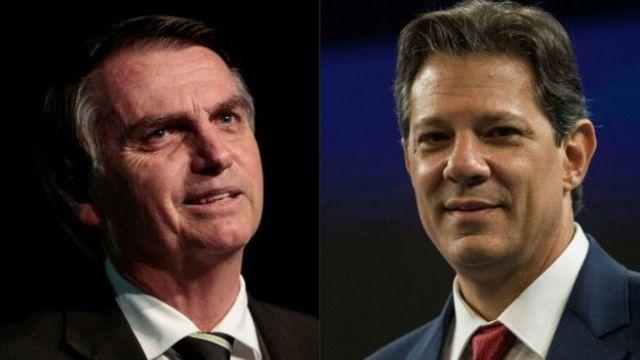 Jair Bolsonaro e Fernando Haddad tem propostas distintas para legilação de armas e munição
