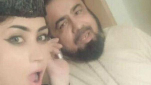 Baloch y un clérigo musulmán