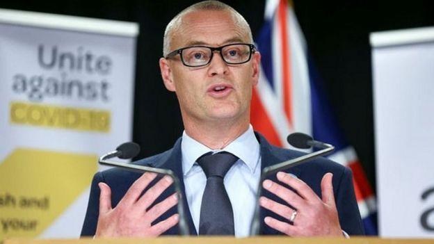 El ministro de sanidad neozelandés, David Clark.