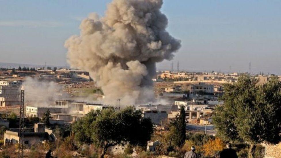 Explosión en un pueblo de Siria