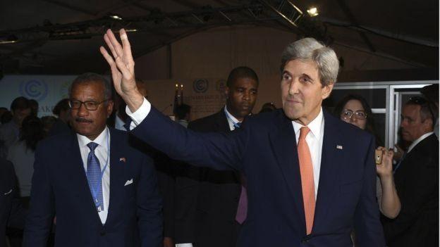 John Kerry, secretario de Estado de EE.UU.