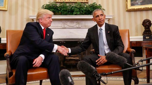 Ông Trump nói đã thay đổi về Obamacare sau khi gặp ông Obama