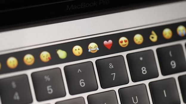 Barra Touch Bar de Apple