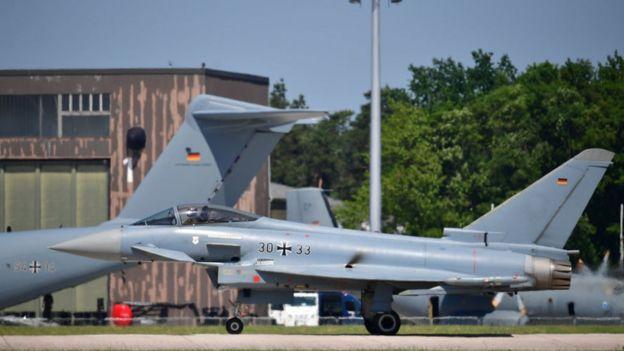 Avião da Bundeswehr