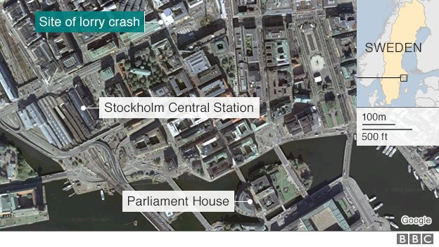 Stockholm incident map