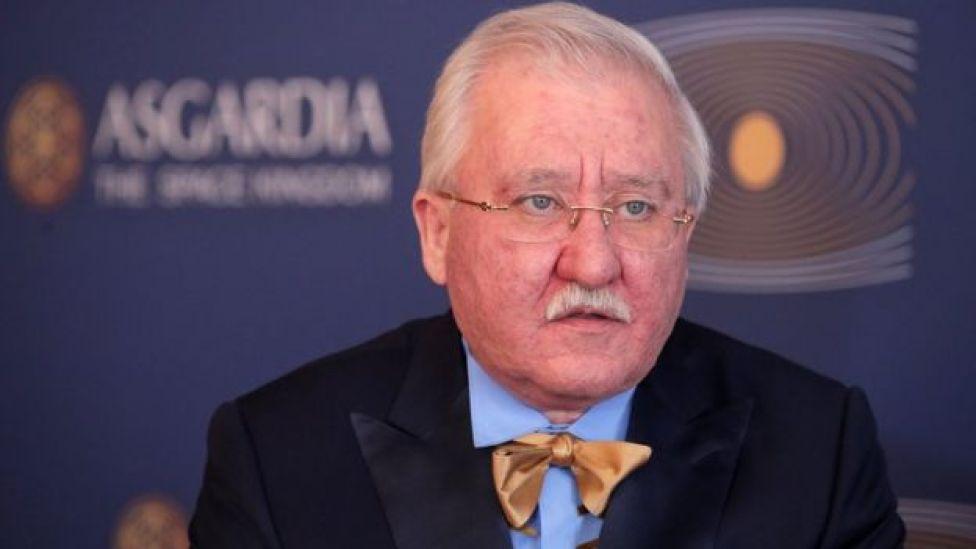 """Igor Raufovich Ashurbeyli, """"jefe de la nación"""" de Asgardia"""