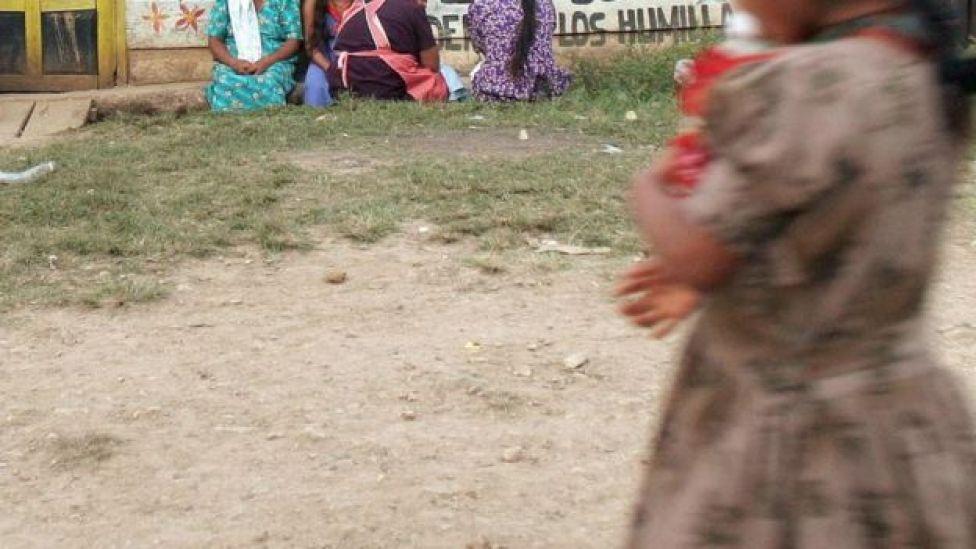 Foto genérica de una niña en México