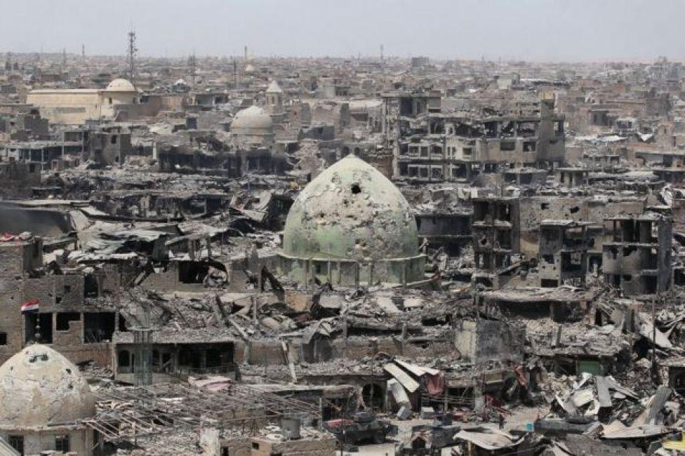 国連は、旧市街だけでも5000棟以上の建物が損壊し、490棟が破壊されたとみている