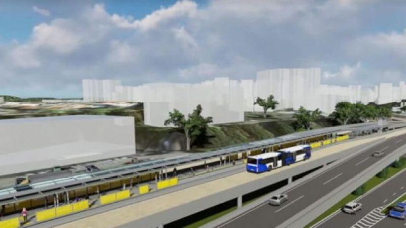Imagem ilustrativa do BRT de Salvador
