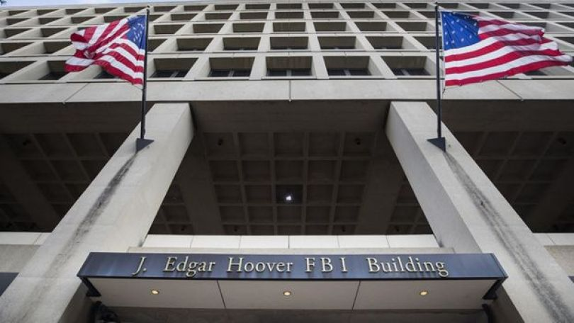 O prédio J. Edgar Hoover, quartel general da agência de polícia federal dos EUA, o Federal Bureau of Investigations