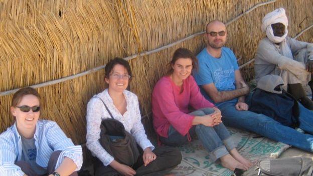 Jo Cox in Darfur