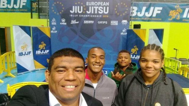 Marcio de Deus, Gabi e outros atletas da equipe