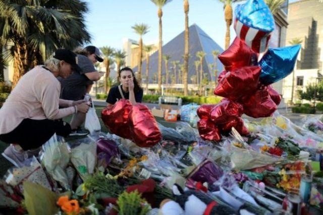 Memorial em Las Vegas