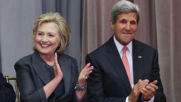 Trong vai trò ngoại trưởng Mỹ, bà Hillary Clinton và ông John Kerry có nhiều tác động đến quan hệ Mỹ - Việt