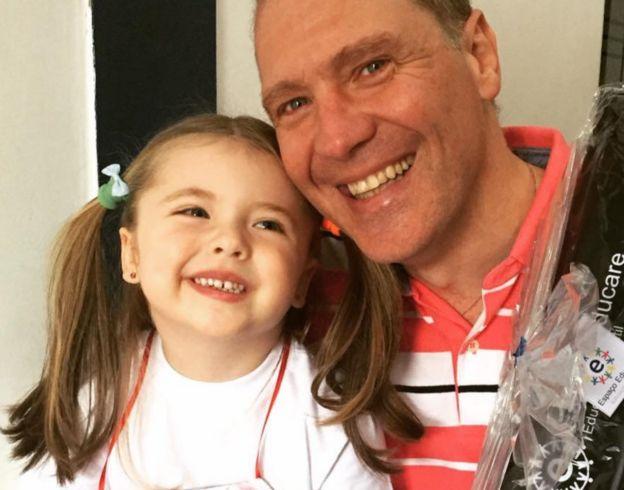 Paulo e filha