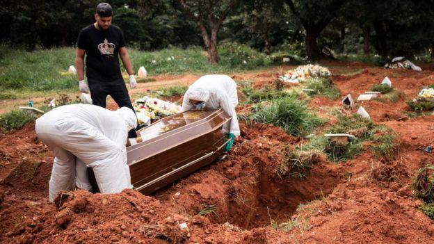 Cementerio en Sao Paulo
