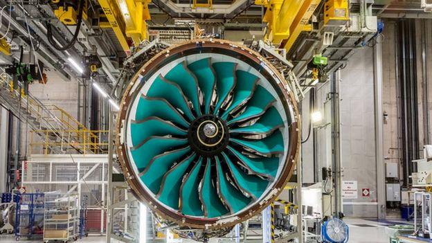 Motor UltraFan de Rolls-Royce UltraFan