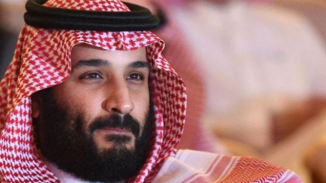 El príncipe heredero Mohammed bin Salman, 2017