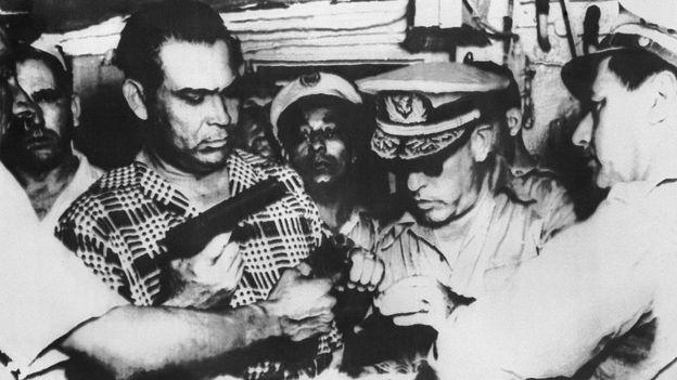 El general Fulgencio Batista