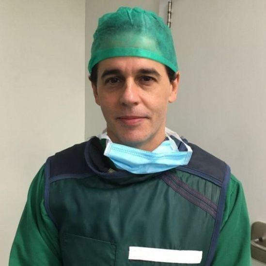O médico André Fernandes diz em em 22 anos trabalhando na área nunca viu situação