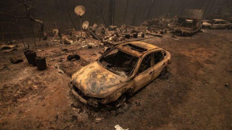 North Complex Fire, 11 de septiembre