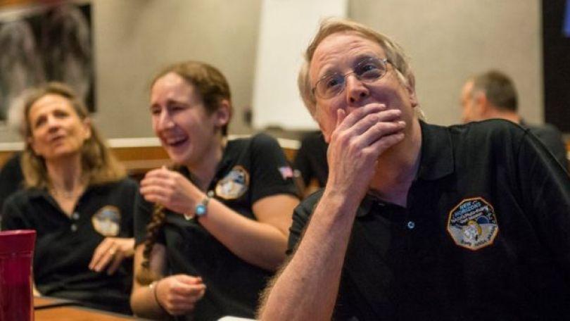 Membros da equipe da New Horizons
