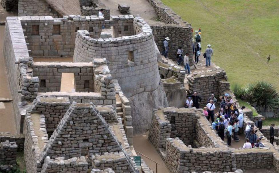 Torre en Machu Picchu