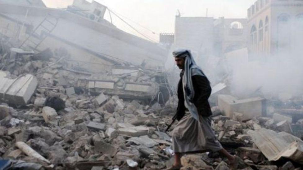شهد اليمن دمارا كبيرا في الصراع الذي تفاقم في أوائل 2015، عندما سيطر الحوثيون على مناطق كبيرة من غربي البلاد