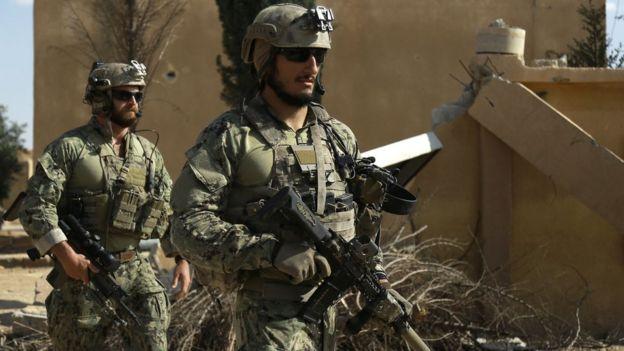 Fuerzas especiales de Estados Unidos.