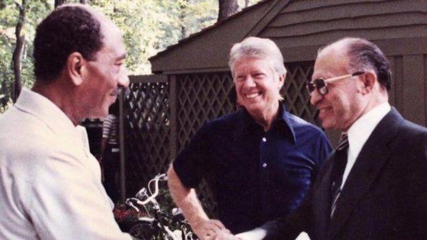 Carter, Begin, Sadat