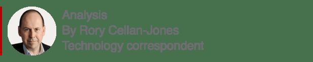 Teknoloji muhabiri Rory Cellan-Jones'un analiz kutusu