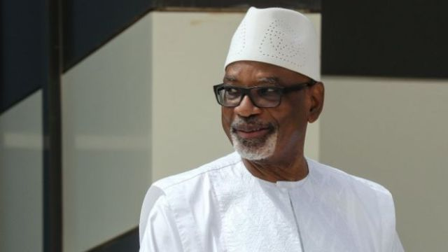 Ibrahim Boubacar Keïta, file picture 30 June 2020