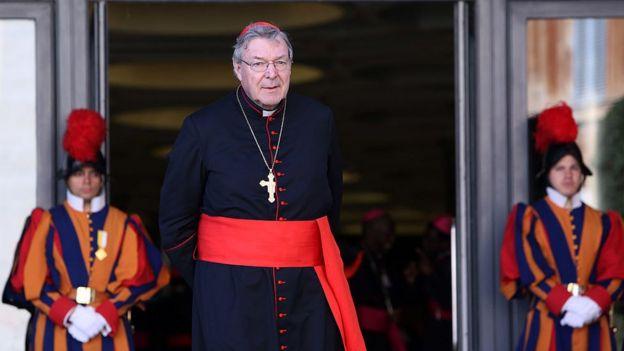 Cardenal australiano George Pell