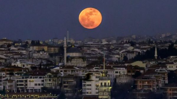 Un eclipse en Turquía
