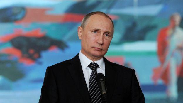 Vladimir Putin in Kyrgyzstan - 17 September