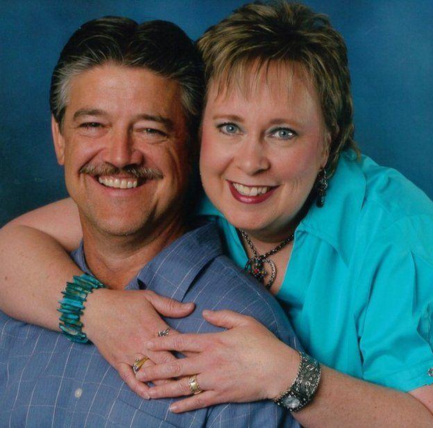 Nancy e Frank, em foto de arquivo pessoal