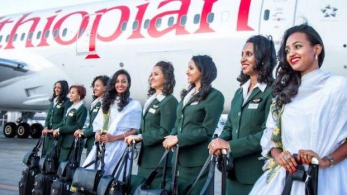 La compagnie aérienne éthiopienne dit vouloir inciter les femmes à dompter les professions à dominance masculine, dont l'aviation.