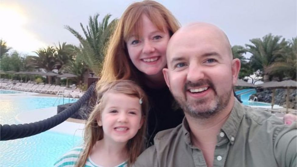 Dan Birch and family