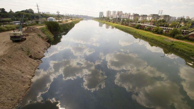 Rio Pinheiros hoje