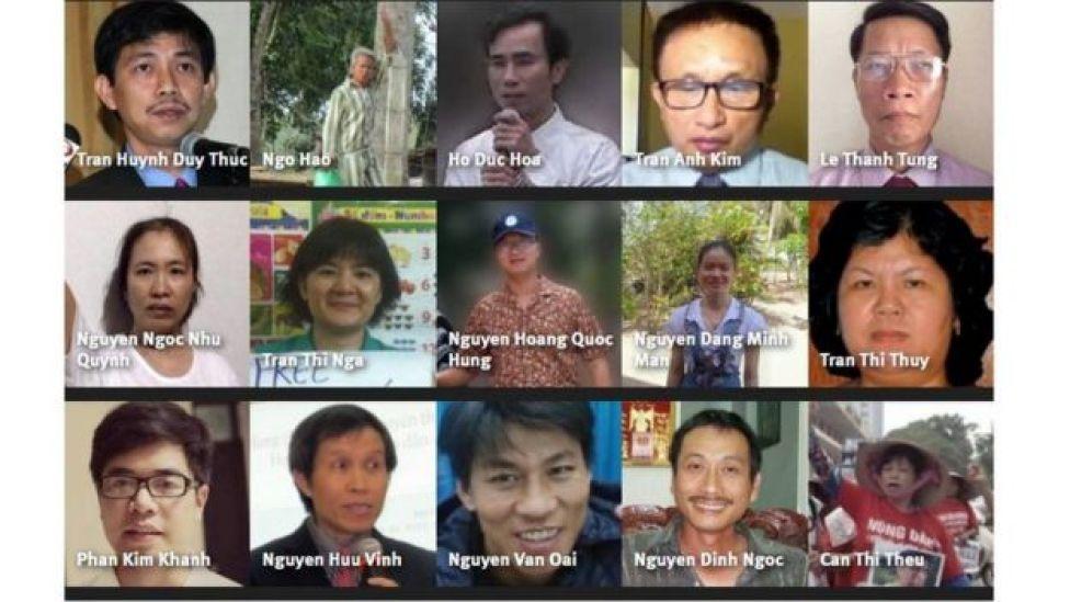 15 vụ bắt giữ tù nhân chính trị mà Tổ chức Theo dõi Nhân quyền cho là cần phải được chú ý