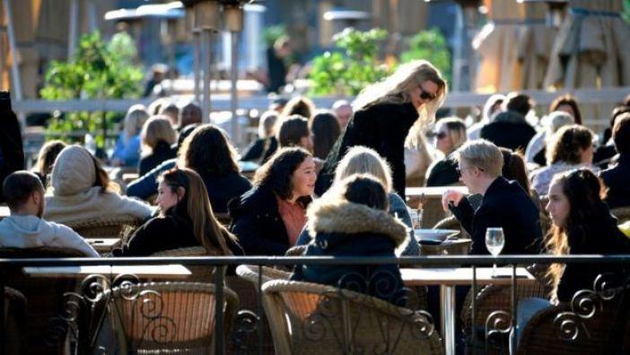 Una terraza en Estocolmo.