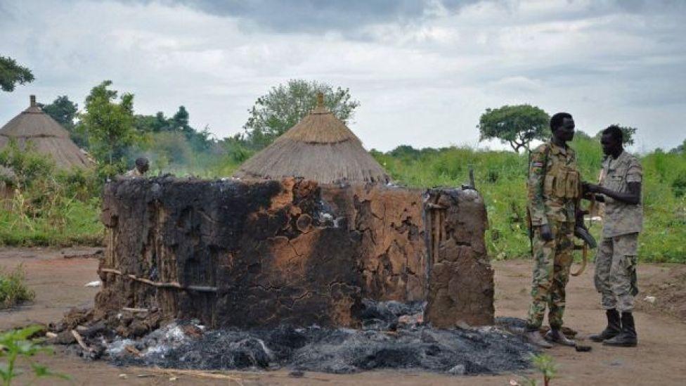 Soldados en Sudan del Sur
